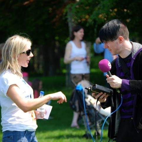Interview with Dublin's 98FM
